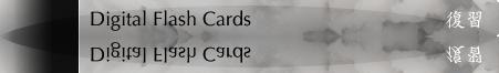 Digital Flash Cards
